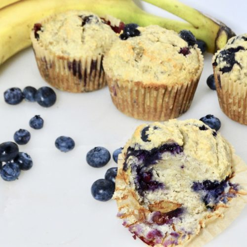 Sweeteners for Baking (and a recipe for Sugarproof Blueberry Banana Muffins) 1