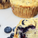 Sweeteners for Baking (and a recipe for Sugarproof Blueberry Banana Muffins) 9