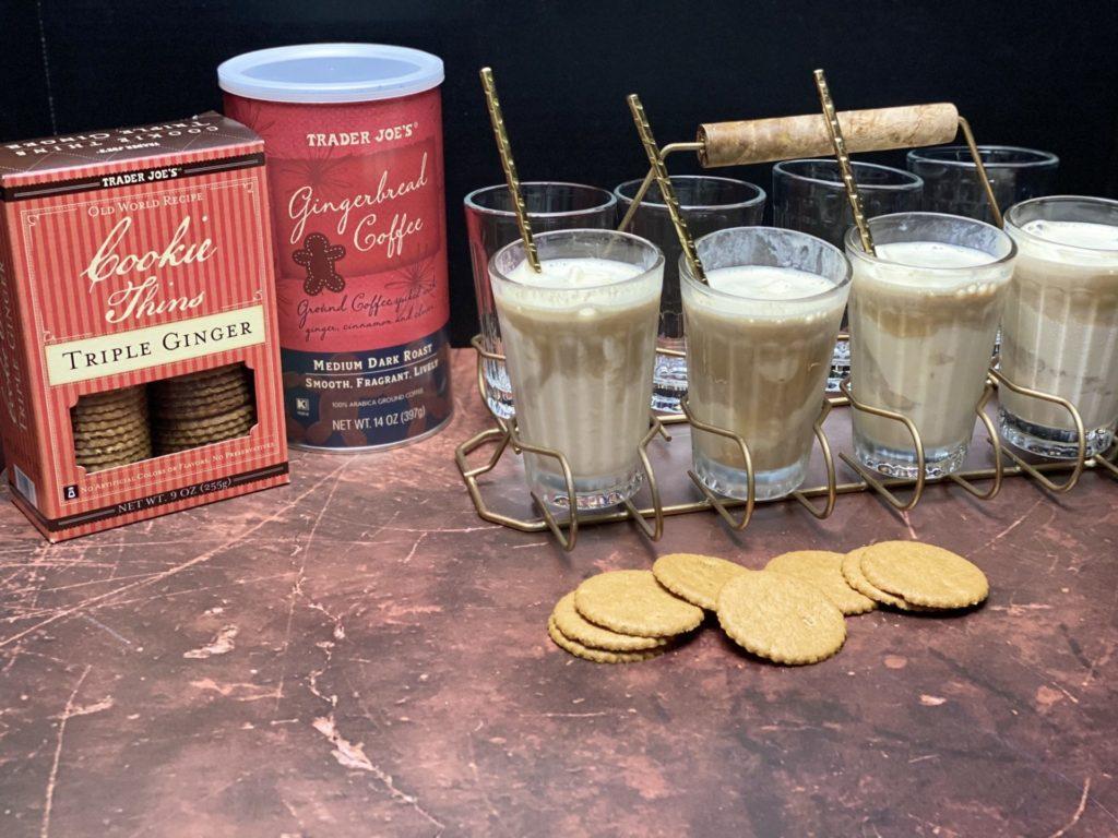 Gingerbread Coffee Affogato
