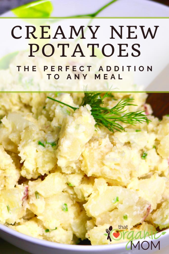 Creamy New Potatoes Recipe 2