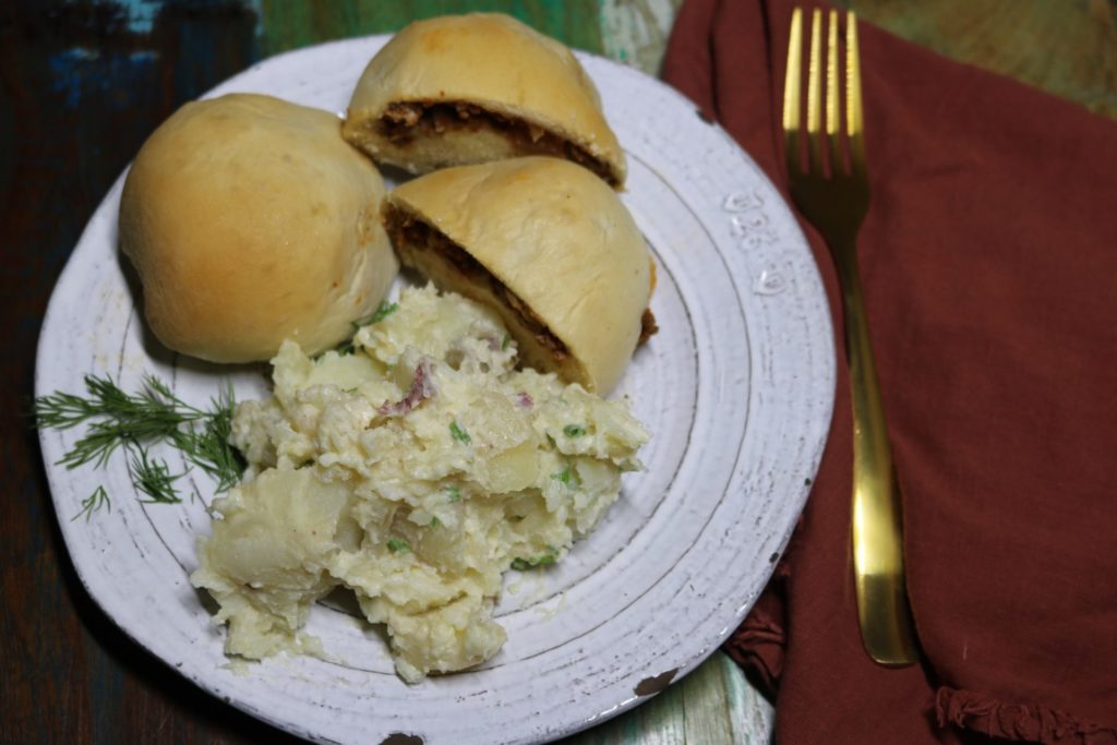 Creamy New Potatoes Recipe [serve hot or cold] 1