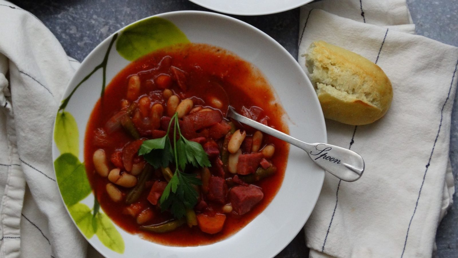 Minestrone Soup Recipe with Purple Sweet Potatoes 3