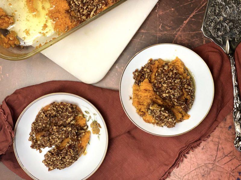 Mom's Best Sweet Potato Casserole Recipe