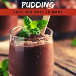 Simple Organic Chocolate Pudding Recipe 3