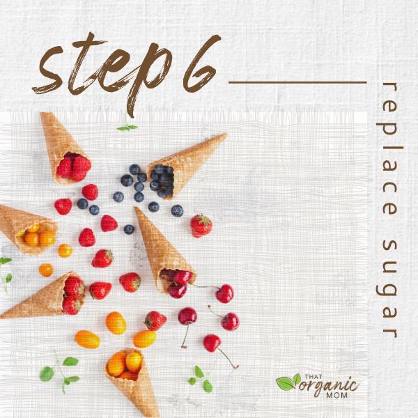 Step 6 - Reduce Sugar