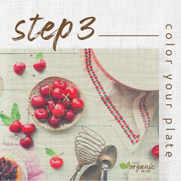 Step 3 - Color Your Plate