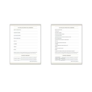 Healing Separation Agreement Editable Online Printable