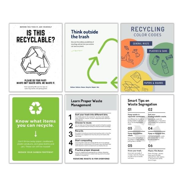Recycle Please Printables