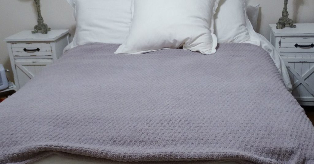 purple haze weighted blanket by sunday citizen